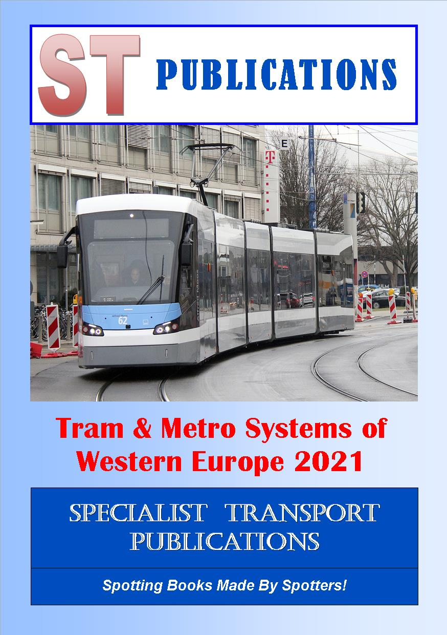 Cover of Trams of Western Europe 2013
