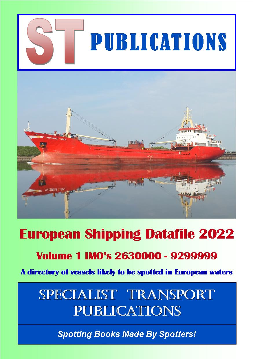Cover of European Shipping Fleet 2018 Volume 1 (IMO`s 2630000 - 9229999)