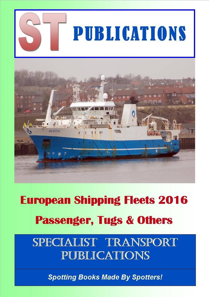 Cover of European Shipping Fleet 2013 - Passenger Vessels, Tugs and Others