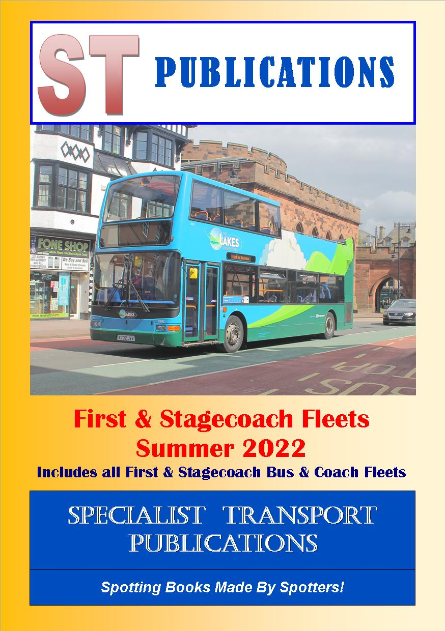 Cover of First and Stagecoach Bus Fleets - Summer 2017