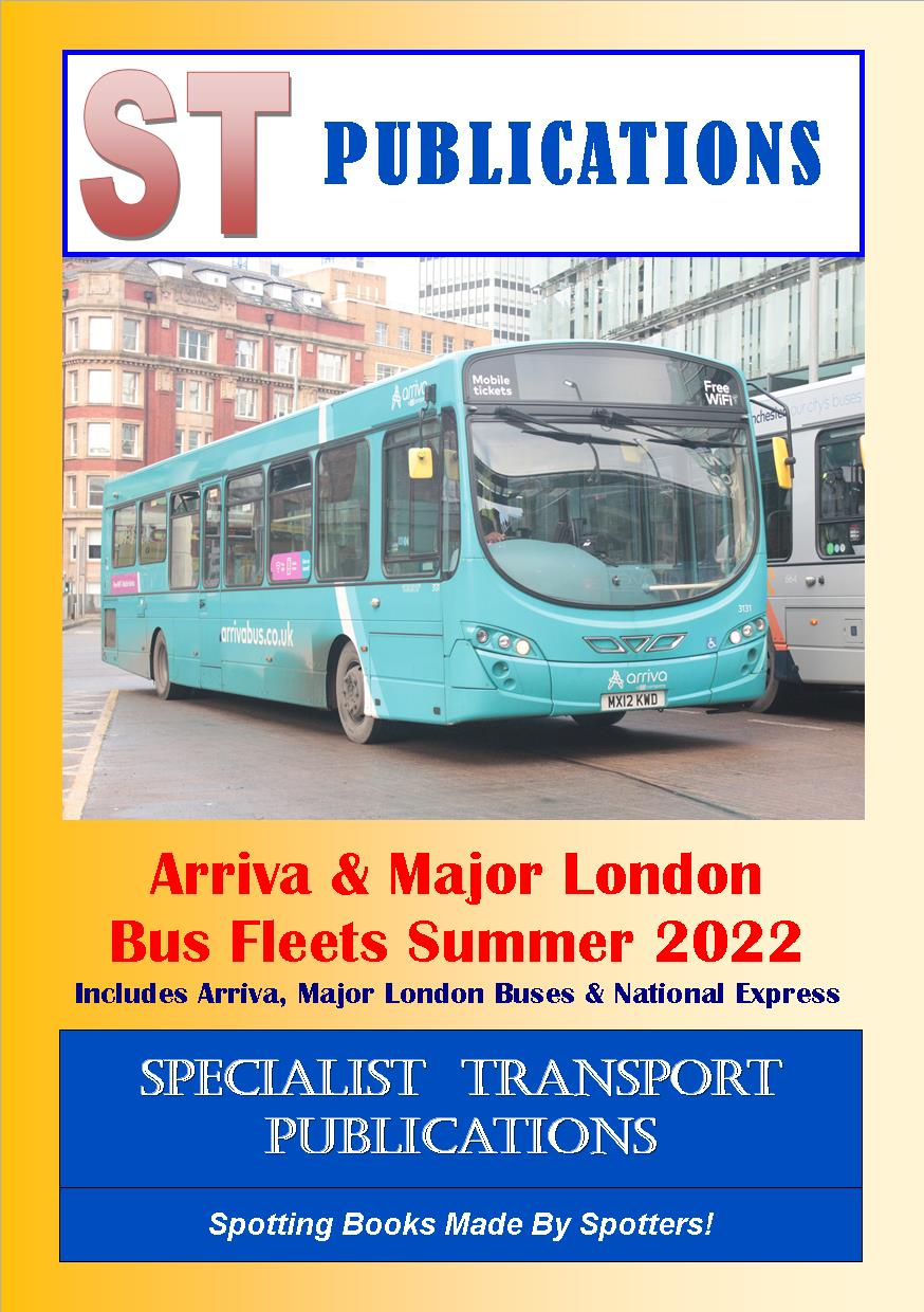 Cover of Arriva and Major London Fleets Summer 2018