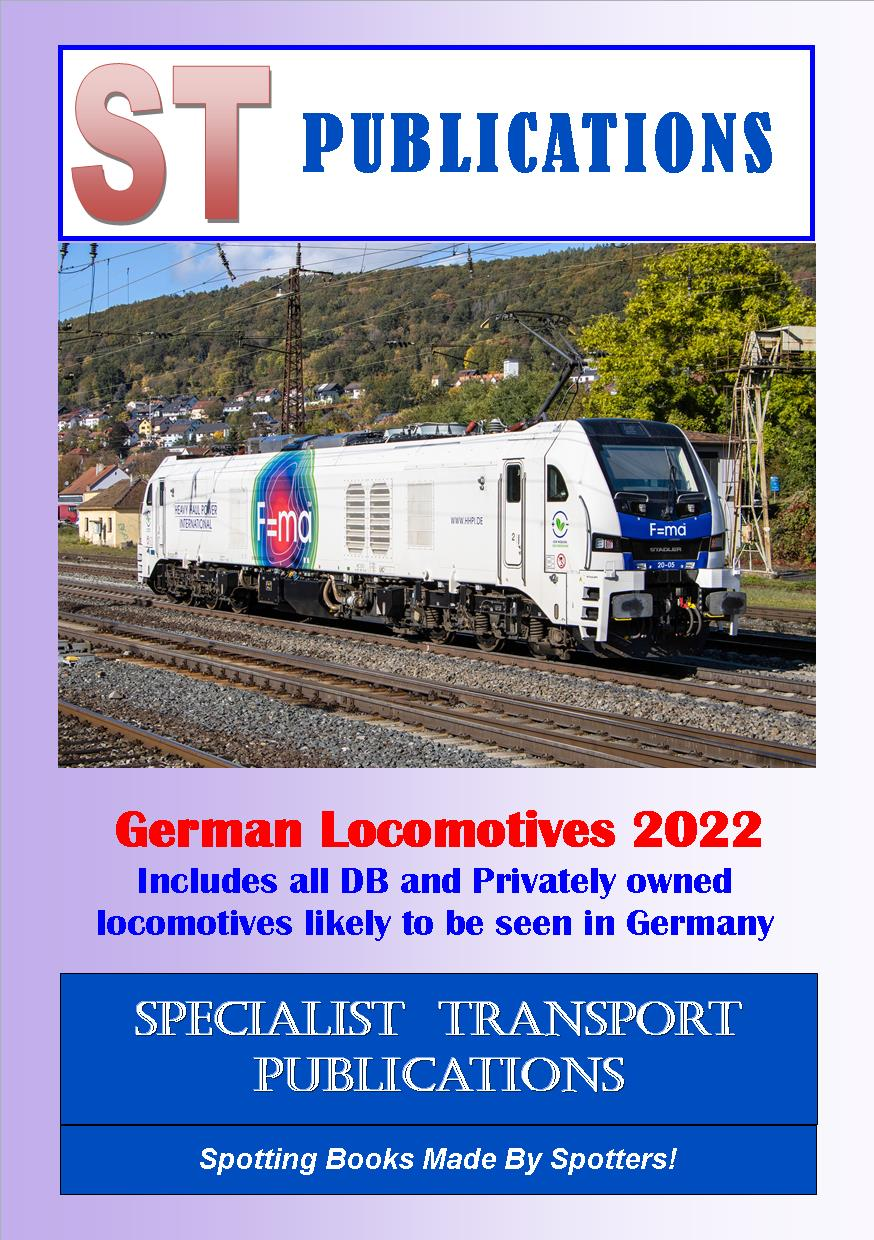 Cover of German Locomotives 2018