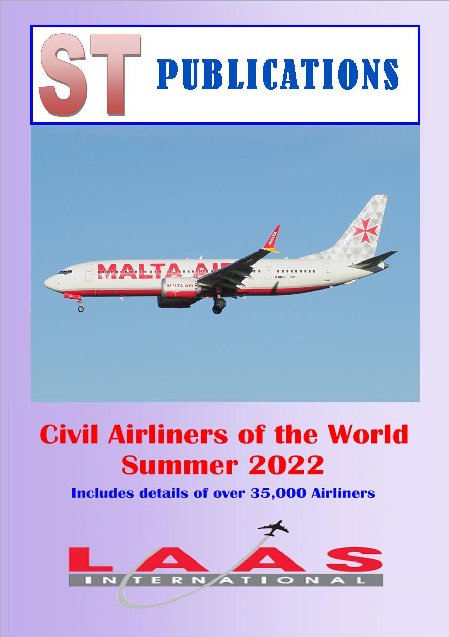 Cover of Civil Airliners of the World 2017
