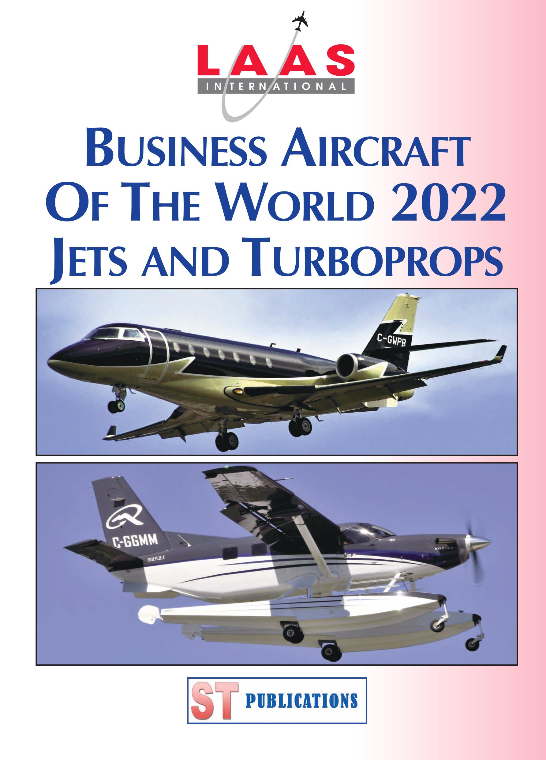 Cover of Business Jets & Props of the World Summer 2018