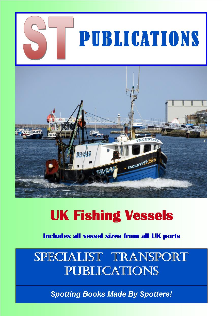 Cover of UK Fishing Vessels